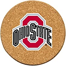 Thirstystone Ohio State University Cork Coaster Set