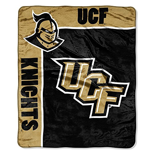 NCAA Central Florida Knights School Spirit Royal Plush Raschel Throw Blanket, 50x60-Inch (Central Florida Knights compare prices)