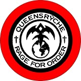 Queensryche - Rage for Order Logo - 1.25