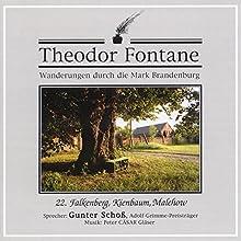 Falkenberg, Kienbaum, Malchow (Wanderungen durch die Mark Brandenburg 22) Hörbuch von Theodor Fontane Gesprochen von: Gunter Schoß