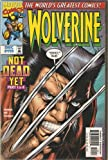 Wolverine #119 (Not Dead Yet Part 1 of 4) Vol. 1 Dec. 1997