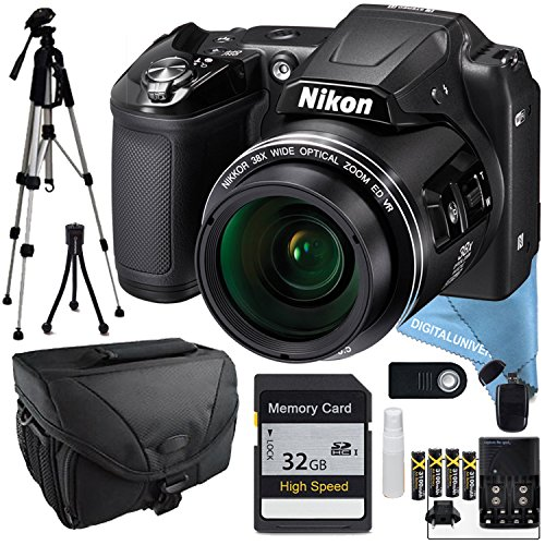 nikon-coolpix-l840-black-32gb-sd-card-full-size-tripod-batteries-charger-camera-bag