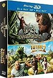 Jack et le chasseur de géants 3D + Voyage au centre de la Terre 2, l'île mystérieuse 3D [Blu-ray 3D]