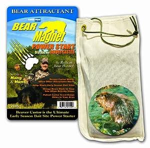 Code Blue Bear Magnet Drip Bag w Beaver Castor 2-Pounds by Code Blue