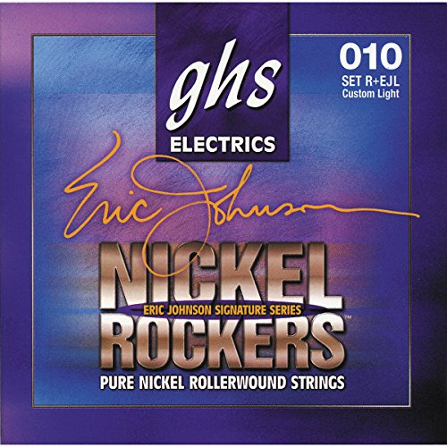 Ghs Strings Eric Johnson Signature (Light)- Nickel Rockers Guitar Strings - R+Ejl