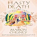 Hasty Death (       UNABRIDGED) by Marion Chesney Narrated by Davina Porter