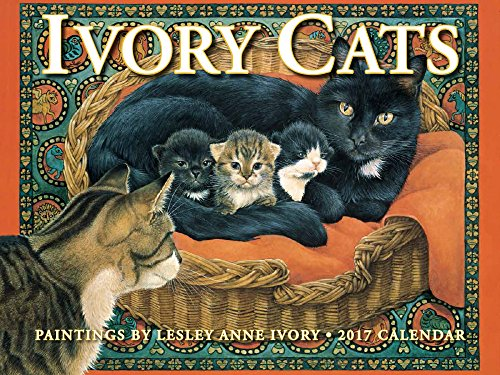 Ivory Cats 2017 Calendar