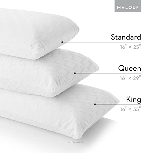 Z by MALOUF Natural Talalay Latex Zoned Pillow Review