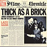 Thick as a Brick 40th Anniversary Special Edition CD/ DVD