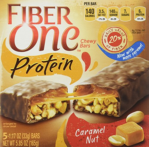 fiber-one-protein-chewy-bars-caramel-nut-585oz-box-pack-of-4