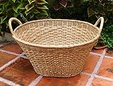 Fine Rattan Oval Washing Basket