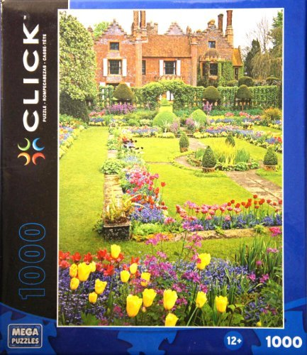 CLICK Chenies Manor Garden 1000 Piece Puzzle