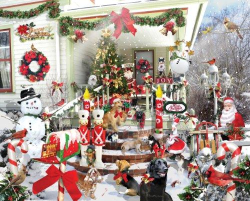 Crazy Christmas - 1000 Piece Jigsaw Puzzle