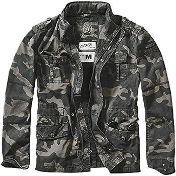 Brandit Britannia Jacket Dark Camo