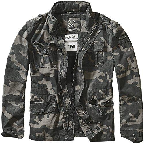 Brandit Britannia Jacket Dark Camo 0