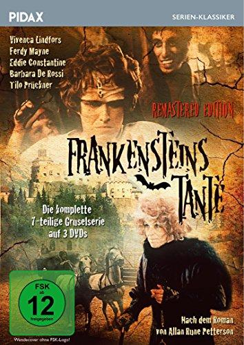 Frankensteins Tante - Remastered Edition / Die komplette 7-teilige Gruselserie (Pidax Serien-Klassiker) [3 DVDs]