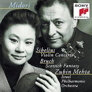 Sibelius: Violin Concerto / Bruch: Scottish Fantasy
