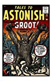 Marvel Comics Stan Lee Tales To Astonish #13 1st Appearance Of GROOT - Guardians of The Galaxy Unsigned 8x10 Comic Cover Photograph