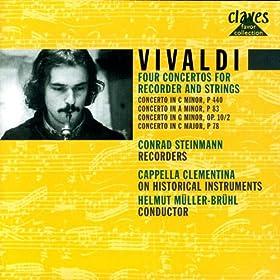 Vivaldi: Four Concertos for Recorders