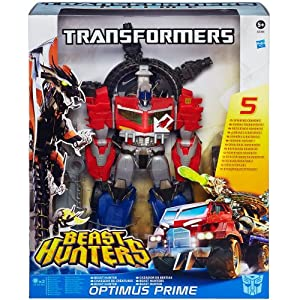 Transformers - A3356E240 - Figurine - Cinéma - Prime Beast Hunter - Optimus Prime