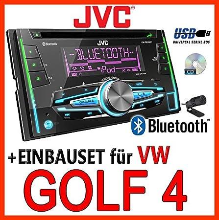 VW golf 4/bora-jVC-kW-r910BT 2-dIN avec uSB