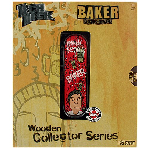 Tech Deck Wooden Collector Series [Baker Skateboards - Andrew Reynolds] - 1