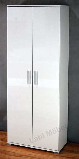Michal Labedz E1wMAT/wHGL Elana - Armario (2 puertas, 35 x 70 x 175 cm), color blanco
