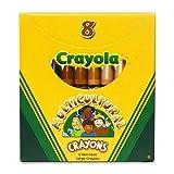 Multicultural Crayons Lrg 8-pk [Set of 24]