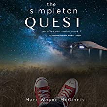 The Simpleton Quest Audiobook by Mark Wayne McGinnis Narrated by L. J. Ganser