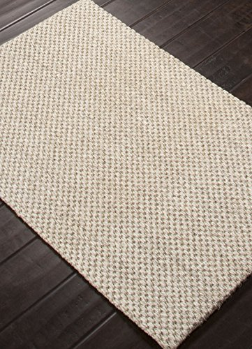 Addison and Banks Naturals Solid Pattern Sisal Area Rug, 2 by 3-Feet, Marble/Edge