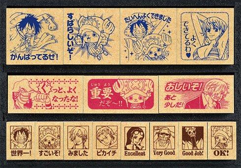 ONE PIECE - Wooden Stamp DX [SDH-057] (15pcs)