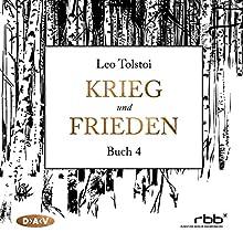 Krieg und Frieden - Buch 4 Hörbuch von Leo Tolstoi Gesprochen von: Ulrich Noethen