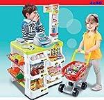 deAO Kids Role Play Supermarket Set S...