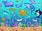 Under The Sea 2 by Dan Morris Tile Mural for Kitchen Backsplash Bathroom Wall Tile Mural