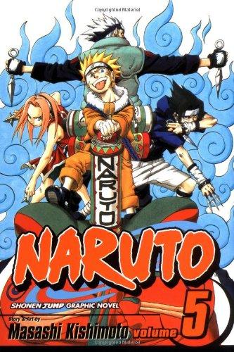 NARUTO -ナルト- コミック5巻 (英語版)