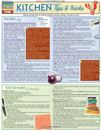 Kitchen Tips & Tricks (Quickstudy: Home)