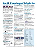img - for Mac OS X Snow Leopard Quick Reference Guide (Cheat Sheet of Instructions, Tips & Shortcuts - Laminated Card) book / textbook / text book