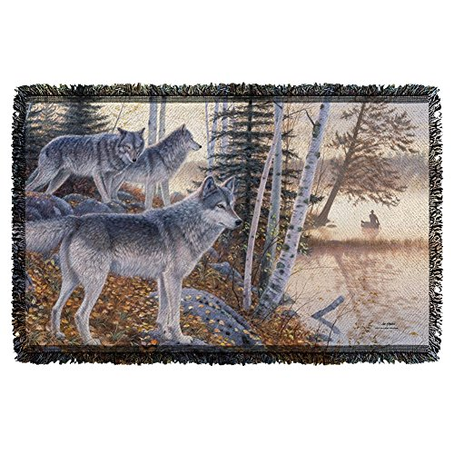 Wild Wings Silent Travelers Woven Throw WW364TAP