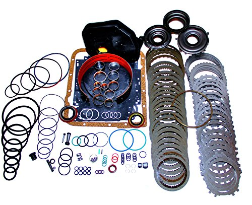 4L60E Transmission Rebuild Kit Heavy Duty Master Kit with 3-4 Power-pack (Steel Bushing 1 To 3 4 compare prices)