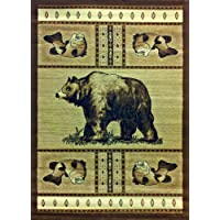 Cabin Area Rug 3 Ft. 10 In. X 5 Ft. 1 In. Design #L 360