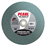 Pearl Abrasive BG610120 Green Silicon Carbide Bench Grinding Wheel with C120 Grit