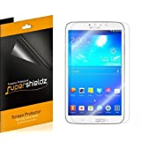 [3-Pack] Supershieldz High Definition Clear Screen Protector for Samsung Galaxy Tab 3 8.0 8 inch + Lifetime Replacement (Color: Clear, Tamaño: 8 Inches)