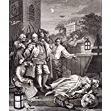 The Four Stages of Cruelty in Perfection, by William Hogarth (Print On Demand)