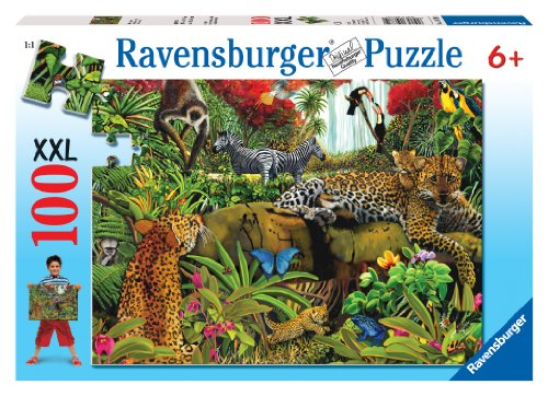 Visit Ravensburger Wild Jungle - 100 Piece Puzzle Details