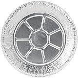 Aluminum Foil Pie Pans, 50 Deep Style Pie Pans, 9 Inches Diameter, from Baker's Mark Including BONUS Oven Sleeve Protector (50, 9 inch diameter)