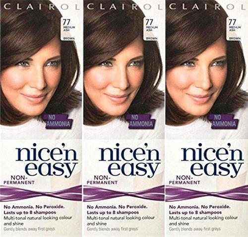 three-packs-of-clairol-nice-n-easy-loving-care-77-medium-ash-brown
