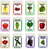 Heirloom Organic Garden Vegetable Seeds NON GMO Easy Growers