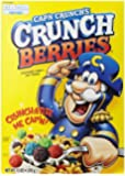 Quaker Captain Crunch Cereal, Crunchberries, 13 oz