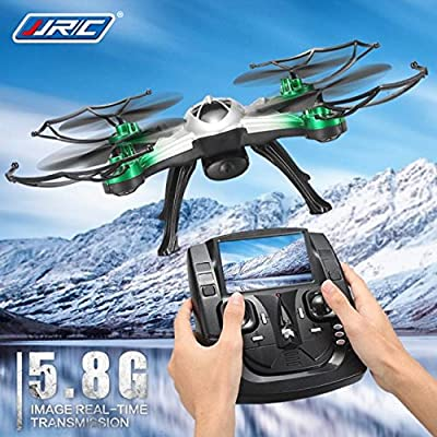 MyBDJ JJRC H29G 5.8Ghz FPV 2.4Gh CF Aerial 6Axis 4CH Quadcopter RTF 2MP Camera Drone from MyBDJ
