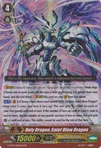 Cardfight!! Vanguard TCG - Holy Dragon, Saint Blow Dragon (G-BT01/002EN) - G Booster Set 1: Generation Stride by Bushiroad Inc.